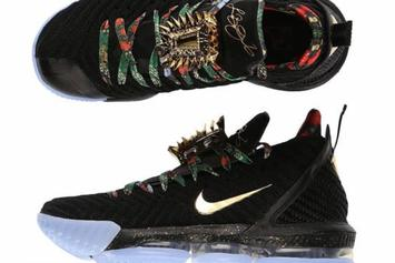 """Nike LeBron 16 """"Watch The Throne"""" Release Details Announced"""