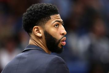 NBA Reportedly Threatened To Fine Pelicans If Anthony Davis Was Benched