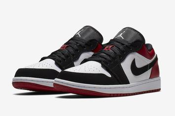 "Air Jordan 1 ""Black Toe"" Returning In Low-Top Version"
