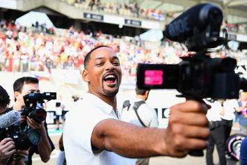 "Will Smith Grants Fan's Wish For ""Thirst Traps"" With An Indulgent Photoset"
