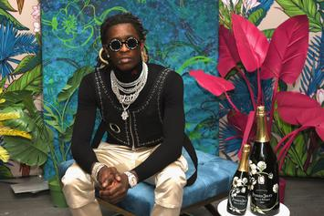 """Young Thug Sends Harrowing Message To Followers: """"Drugs Help Depression"""""""