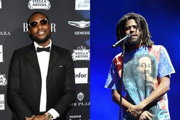 Meek Mill Says He Can't Wait To Go For Bar For Bar With J. Cole