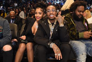 Offset Was A Third Wheel During Quavo & Saweetie's Romantic NBA All-Star Date