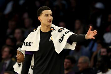 Kyle Kuzma Gets A Handful Of Booty During All-Star Break