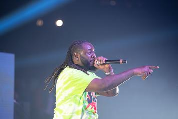 T-Pain Shuts Down Show After Taking A Beach Ball To The Head