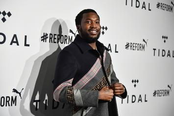 "Meek Mill To Labels: Give Artists Ownership Or Be Viewed As A ""Slave Master"""