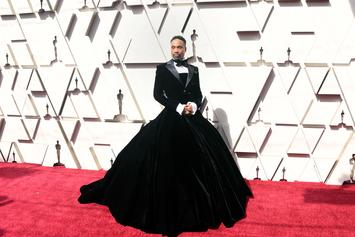 "Billy Porter Wears Tuxedo Gown At Academy Awards: ""I'm A Man In A Dress"""
