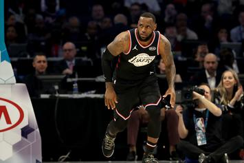 LeBron James Is Now The First Player To Be Top 10 All-Time In Assists And Points