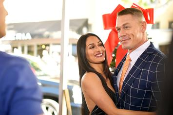 "WWE's Nikki Bella Cozies Up With ""DWTS"" Partner Following Cena Split"