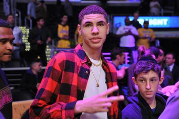 LaMelo Ball Busts Out Dance Moves While Listening To Lonzo's Latest Track