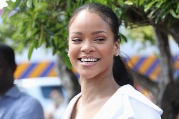 "Rihanna Reacts After Secret Album Under ""Fenty Fantasia"" Leaks Online"