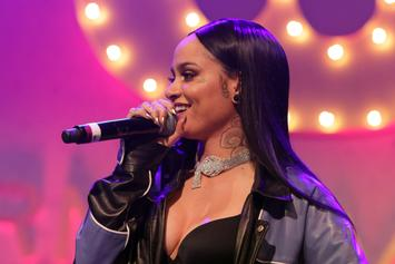 "Kehlani Becomes A ""Butterfly"" In Nude Pregnancy Video Shoot"