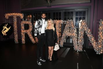 "Khloe Kardashian & Tristan Thompson ""On The Same Page"" With Custody Of True"