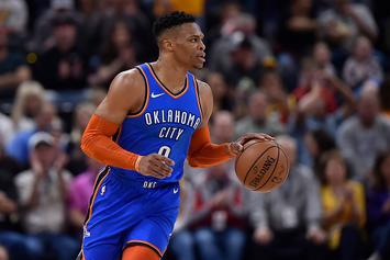 "Russell Westbrook Threatens Heckler In Utah: ""I'll F*ck You Up"""