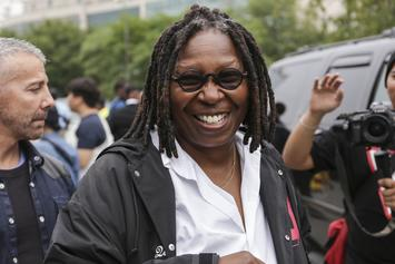 """Whoopi Goldberg Returns To """"The View"""" After Near-Tragic Case Of Pneumonia"""