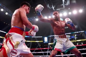 Errol Spence Pummels Mikey Garcia In Defense Of His Welterweight Title