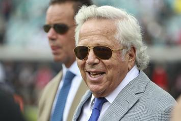 "Robert Kraft Shows Face For The 1st Time Since Prostitution Arrest: ""I Am Truly Sorry"""