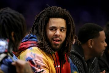 J. Cole Is Hilariously Heated After No One Records His Impressive Basketball Shot