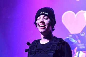 """Lil Xan Debuts An """"Ugly New Face Tat"""" On Instagram"""