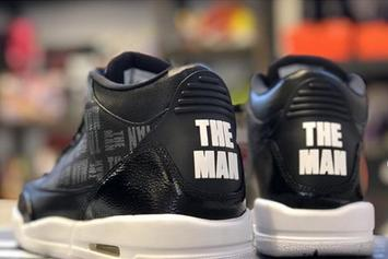 "WWE's Becky Lynch Receives ""The Man"" Air Jordan 3s Ahead Of Wrestlemania"