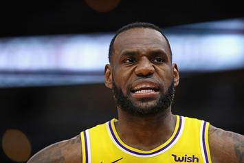 "LeBron James ""Made Raspberry Sound"" When Asked Of Lakers' Roster Construction"