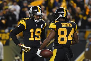 "JuJu Smith-Schuster On Antonio Brown: ""No Bad Blood"""