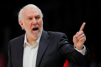 Gregg Popovich Ejected After 63 Seconds, Breaks NBA Record