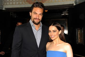 "Jason Momoa Reflects On ""Almost Losing"" Emilia Clarke After Aneurysms"