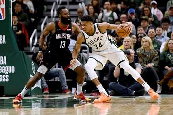 NBA Poll: Players Leaning Toward James Harden For MVP Over Giannis Antetokounmpo