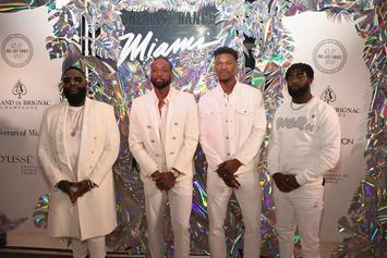 Meek Mill & Rick Ross Attend Dwyane Wade's Farewell Party In Miami