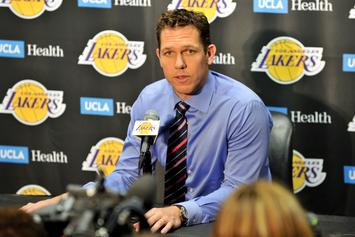 Luke Walton Uncertain Of His Future After Magic Johnson Departure
