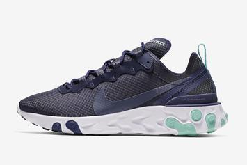 """Nike React Element 55 Dropping In """"Dark Obsidian"""" Colorway"""