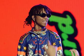 Swae Lee Debuts His First Face Tattoo