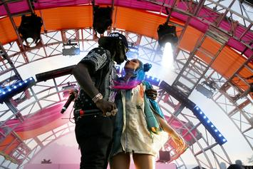 Cardi B Joins Offset Onstage For A PDA Filled Set At REVOLVE Festival