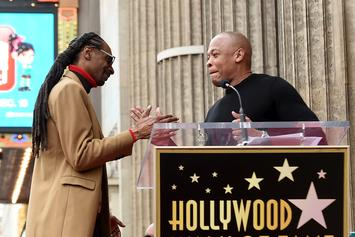 Snoop Dogg Shares Big-Time Throwback With Dr. Dre In 1991