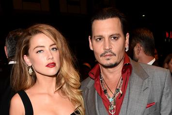 "Johnny Depp Reportedly Tried To Get Amber Heard Dropped From ""Aquaman"""