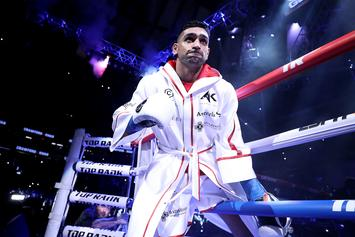 """Amir Khan Should Apologize For """"Quitting"""" After Low Blow, Says Roy Jones Sr."""