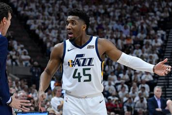 Donovan Mitchell Helped Woman After Witnessing Car Crash In Salt Lake City