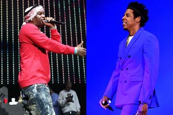Cam'ron Reflects On Jay-Z Friendship With Iconic Throwback Pic