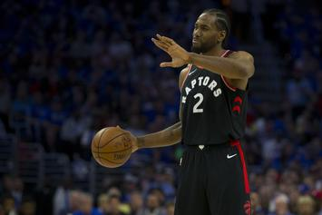 Kawhi Leonard's Trainer Tweets Kyle Lowry Criticism, Quickly Deletes It