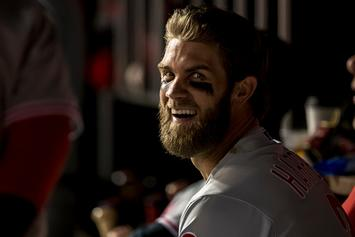 Woman Tries Sliding Into Bryce Harper's Instagram DMs, Fails Miserably