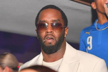 Diddy Breaks Down In Tears Reflecting On Kim Porter Before Mother's Day