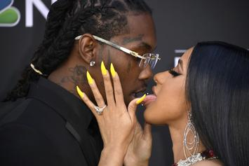 Offset Surprises Cardi B With Baby Kulture On Mother's Day
