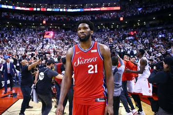 "Joel Embiid Upset After Game 7: ""I Don't Give A Damn About The Process"""