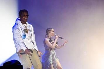 "A$AP Rocky Joins FKA Twigs To Perform ""F*kk Sleep"" In NYC"