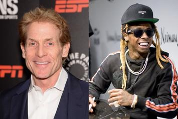 "Skip Bayless Details Bromances With Lil Wayne & Nelly: ""We Text All The Time"""