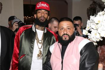 DJ Khaled Will Donate Profits From Nipsey Hussle Collab To Rapper's Children