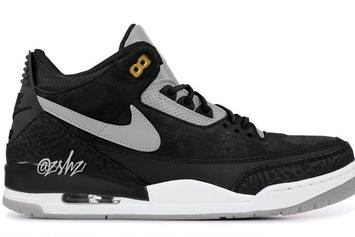 "Air Jordan 3 Tinker ""Black/Grey"" Release Date Announced"