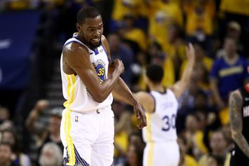 """Kevin Durant Is Reportedly """"Not Close"""" To Returning To Action"""