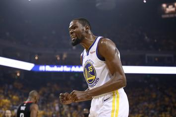 Kevin Durant Once Again Claps Back At Fan On Instagram